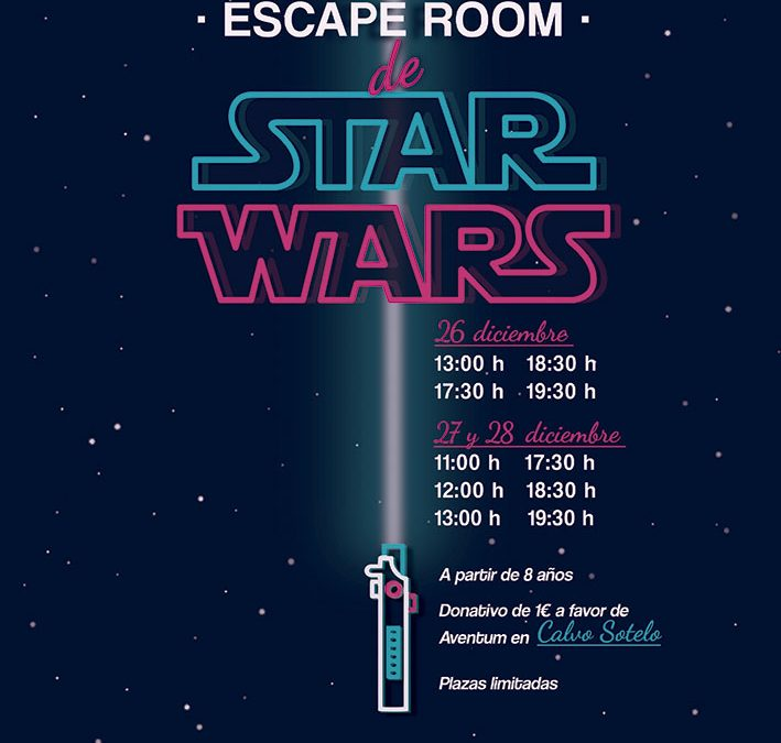 Escape room de Star Wars