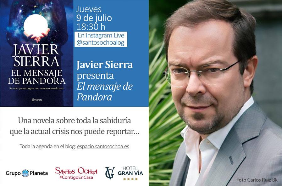 Encuentro virtual con Javier Sierra
