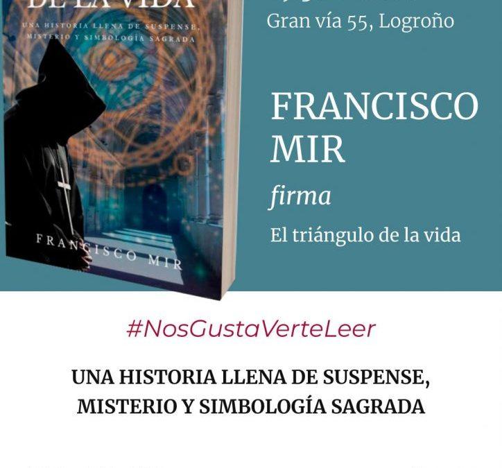 Firma con Francisco Mir
