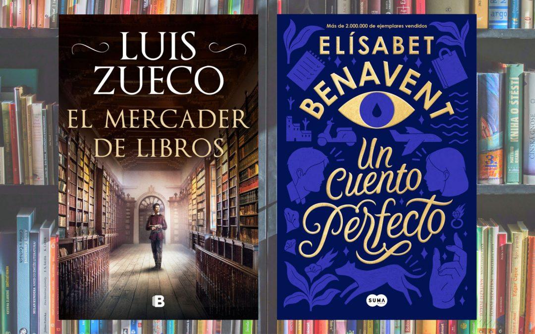 Charlamos con Elísabet Benavent y Luis Zueco sobre novela romántica e histórica #YoMeQuedoEnCasaLeyendo