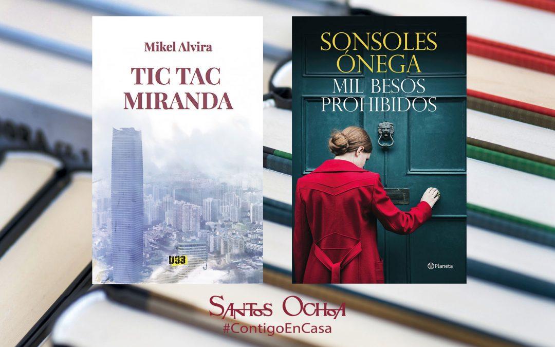 Encuentros virtuales con Sonsoles Ónega y Mikel Alvira