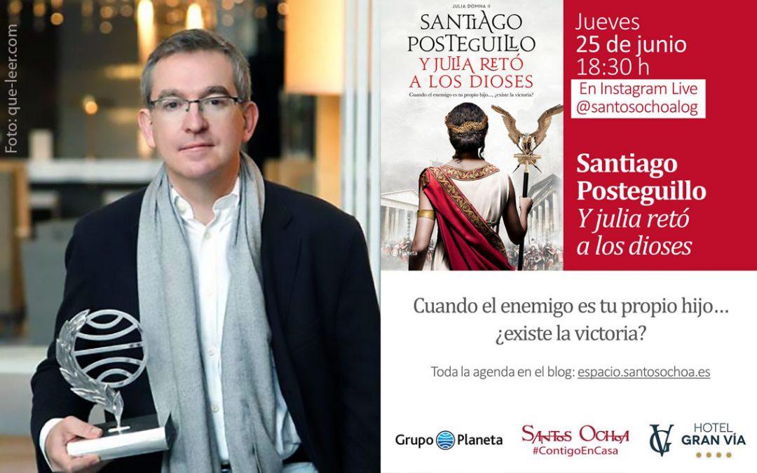 Encuentro virtual con Santiago Posteguillo