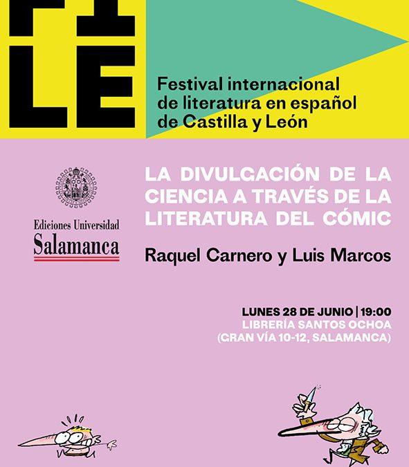 FILE. Festival internacional de literatura en español de Castilla y León